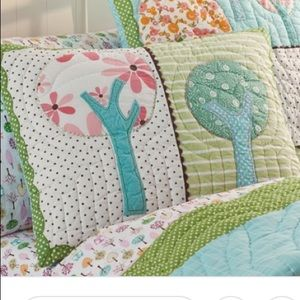 "Pottery barn kids ""Brooke"" pillow shams"